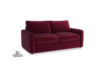 Chatnap Storage Sofa in Merlot Clever Deep Velvet with both arms