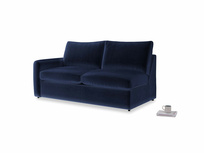 Chatnap Storage Sofa in Midnight Clever Deep Velvet with a left arm