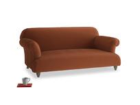 Medium Soufflé Sofa in Praline Clever Deep Velvet