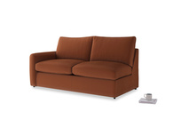 Chatnap Storage Sofa in Praline Clever Deep Velvet with a left arm