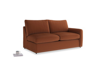 Chatnap Storage Sofa in Praline Clever Deep Velvet with a right arm