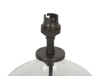 Mini Flagon table lamp top detail