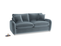 Medium Easy Squeeze Sofa Bed in Mermaid Vintage Velvet