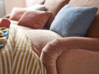 Jonesy chaise sofa close up
