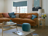 Sugar Bum corner sofa even sided