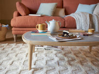 Polly wooden handmade coffee table