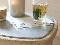 Little Polly modern marble side table