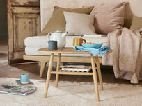 Mover wooden coffee table