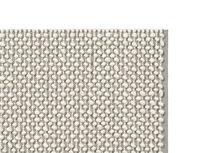 Bobble bedside rug in grey corner detail