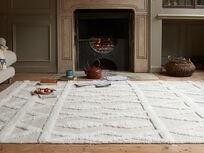 Teddy fluffy floor rug