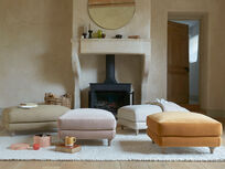 Sugarloaf footstool pouffe