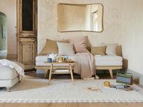 Loom rug in Dusty Pink
