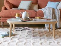 Tufty floor rug
