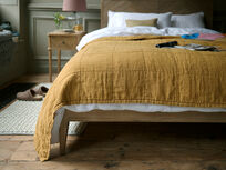 Lazy Quilt in Ochre Flapper