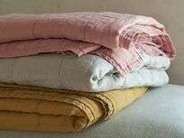 Lazy Quilt throws