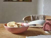 Diggins bowl in Rhubarb Fool spoon