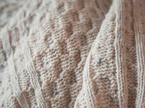 Chunky Knit in Natural Cream close
