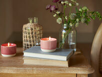 Candle Pot in Rhubarb Fool and Jam Sandwich