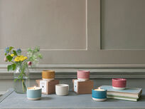 The full Candle Pot collection