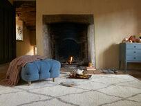 Berber floor rug