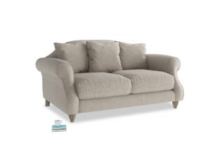 Small Sloucher Sofa in Birch wool
