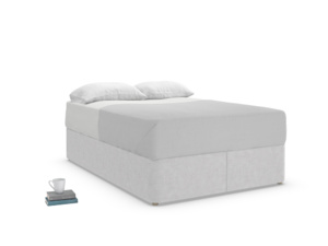 Double Store Storage Bed in Cobble house fabric