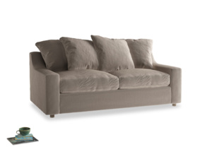 Medium Cloud Sofa in Fawn clever velvet