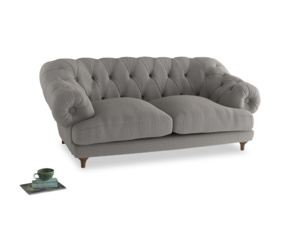 Medium Bagsie Sofa in Wolf brushed cotton
