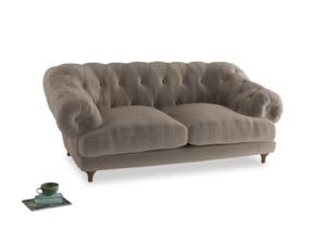Medium Bagsie Sofa in Fawn clever velvet