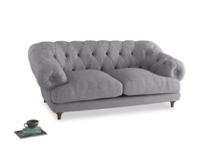 Medium Bagsie Sofa in Storm cotton mix