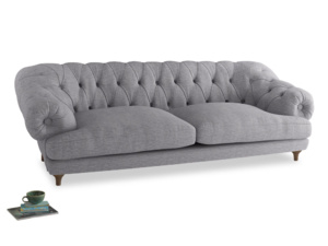 Extra large Bagsie Sofa in Storm cotton mix
