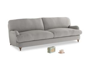 Large Jonesy Sofa in Wolf brushed cotton