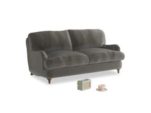 Small Jonesy Sofa in Slate clever velvet