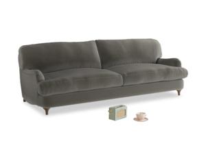 Large Jonesy Sofa in Slate clever velvet