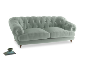 Large Bagsie Sofa in Mint clever velvet