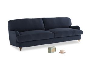 Large Jonesy Sofa in Indigo vintage linen