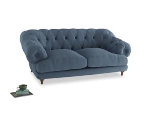 Medium Bagsie Sofa in Nordic blue brushed cotton