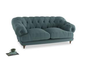 Medium Bagsie Sofa in Marine washed cotton linen
