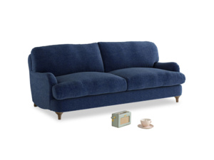 Medium Jonesy Sofa in Ink Blue wool
