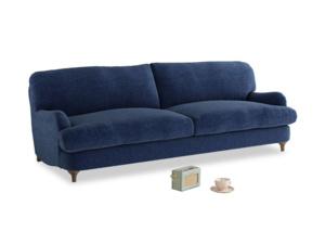 Large Jonesy Sofa in Ink Blue wool