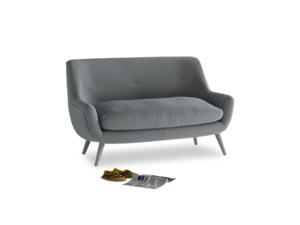 Small Berlin Sofa in Dusk vintage linen