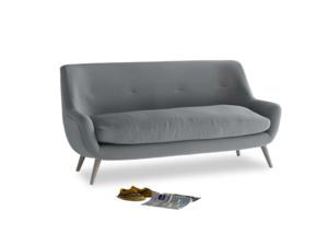 Medium Berlin Sofa in Dusk vintage linen
