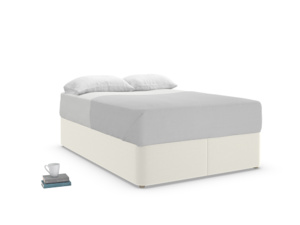 Double Store Storage Bed in Oat brushed cotton