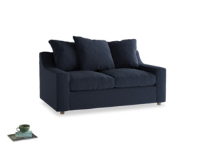 Small Cloud Sofa in Indigo vintage linen
