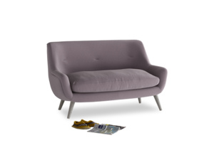 Small Berlin Sofa in Lavender brushed cotton
