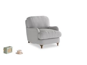 Jonesy Armchair in Flint brushed cotton