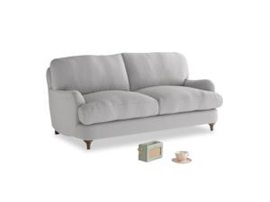 Small Jonesy Sofa in Flint brushed cotton