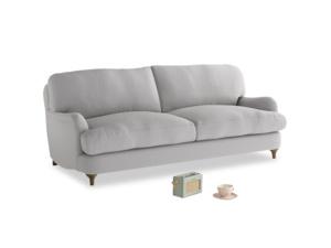 Medium Jonesy Sofa in Flint brushed cotton