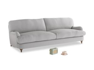 Large Jonesy Sofa in Flint brushed cotton