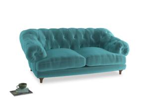 Medium Bagsie Sofa in Belize clever velvet